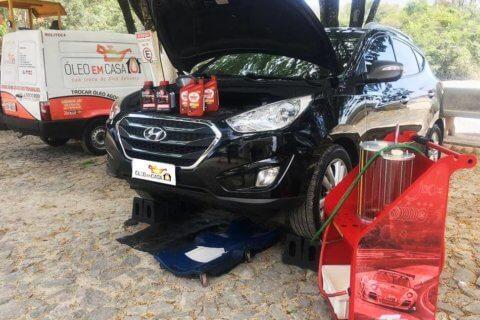 Óleo em Casa troca de óleo câmbio automático i30