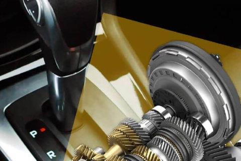 Câmbio Automático com Engrenagens